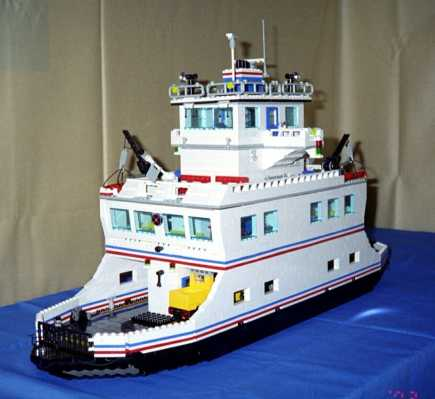 LEGO Car Ferry