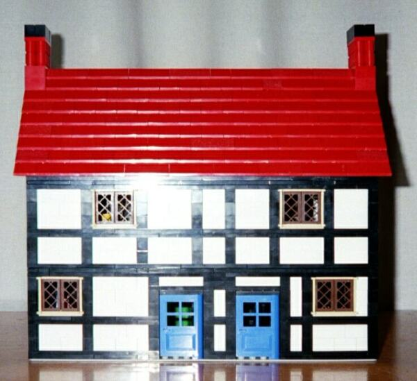 Half-Timbered Shops LEGO building instructions | Lions Gate Models