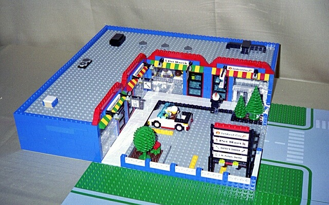 Shopping Mall Downloadable Lego Instructions Lions Gate Models